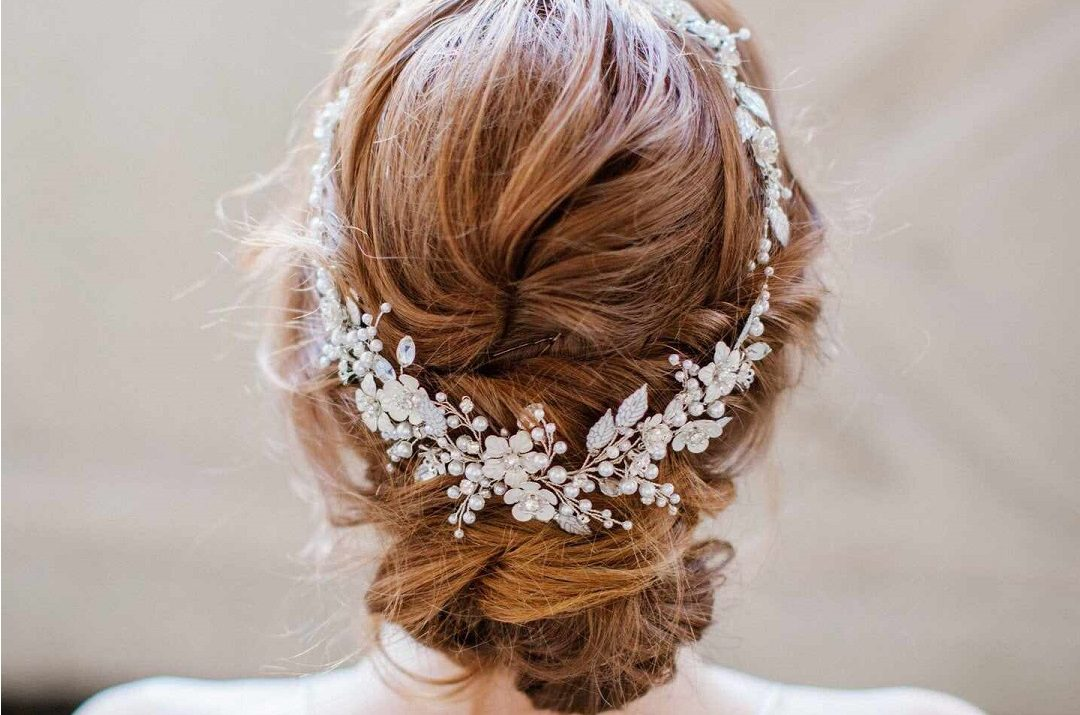 Beads in your hair during your wedding3
