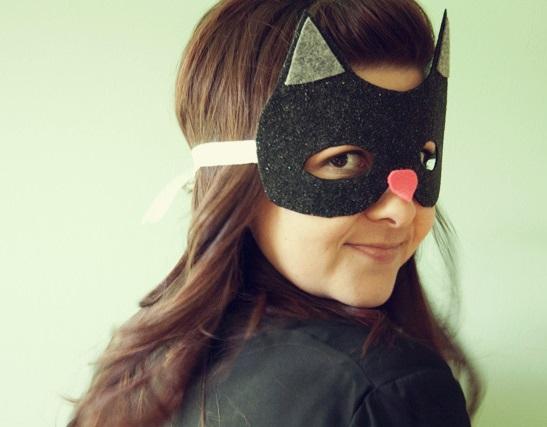 diy Halloween mask